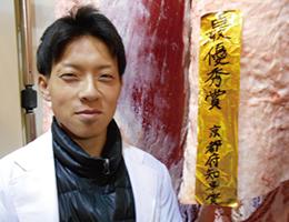 (有)亀岡牛人見畜産 人見 武瑠さん