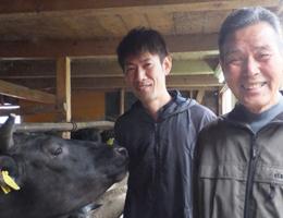 数井 登志夫さん(右)隆夫さん(左)