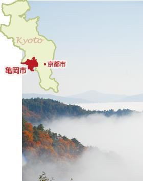 亀岡市地図